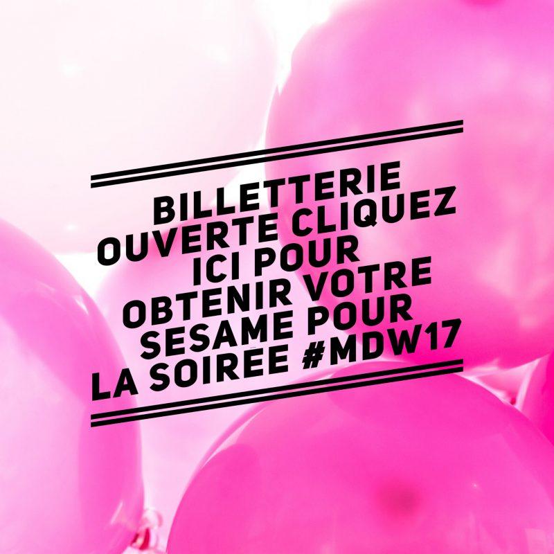 inscrivez vos projets au MDW17